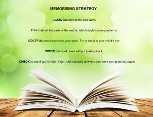 memorising strategy
