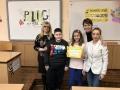 СУ Св. св. К и М Бургас Йоанна Василева и Здравко Калчев се класираха напърво и второ място в